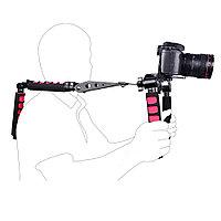 Риг Плечевой упор складной для DSLR и видеокамер до 3-х кг, фото 1