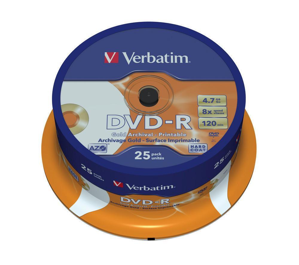DVD-R 4.7GB Verbatim Archival