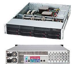 Сервер Supermicro CSE-825TQ-R720LPB/X10DRL-i
