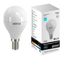 Лампа Gauss LED шар 6W