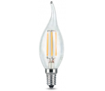 Лампа Gauss LED Filament Candle 5W E14 2700K 1/10/50