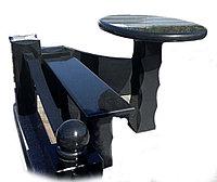 Скамейка и столик гранитные