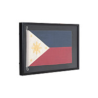 Флаг Филиппин за стеклом, малый  Shadow Box Small Philippines