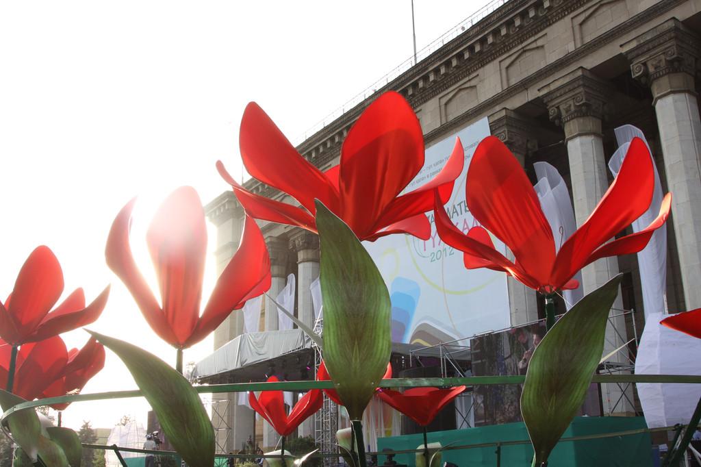 Фестиваль цветов Гулкала 2012