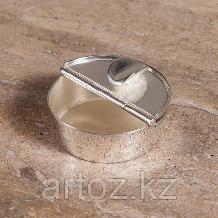 Пепельница, малая  Small Ashtray In Silver, фото 2