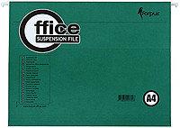 Папка подвесная для картотек Forpus А4+ (365*240мм), зеленый