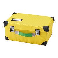 Чемодан ФЛЮТТБАР для игрушек желтый ИКЕА, IKEA