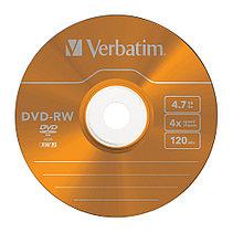 DVD-RW  4X 4.7GB Verbatim, фото 3