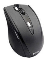 Mouse A4 Tech G10-770FL-1, Wireless Optical  Mouse, 2X Click, USB, 2000dpi, 7 buttons, black