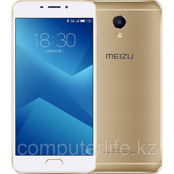 Смартфон MEIZU M5Note 16GB Gold (M621H/16GB/Gold)