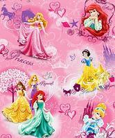 Детский складной коврик с изображениями Принцесс.