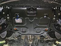 Защита картера двигателя и кпп на Land Rover Discovery 4/Лэнд Ровер Дискавери 4