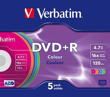 DVD+R  4.7GB Color Verbatim, фото 2