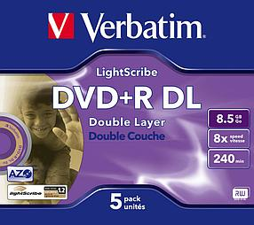 DVD+R  8.5GB Lightscribe Verbatim, фото 2