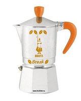 Гейзерная кофеварка Bialetti Break (апельсин), 3 порции