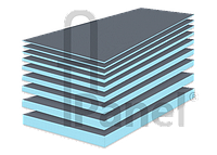 Тепо- и гидроизоляционный материал