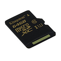 Карта памяти Kingston SDC10G2/64GBSP Class 10  64GB
