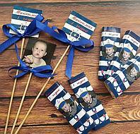 Персональные шоколадки, именные и с фото на годик