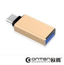 Адаптер USB 3.0 (мама) - Micro USB 3.1 тип C (папа) ОТG переходник