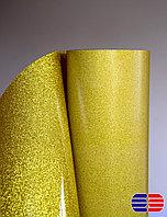 Флекс пленка глиттер золото (OSG Glitter Gold), фото 1