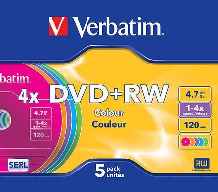 DVD+RW  4X 4.7GB Verbatim, фото 2