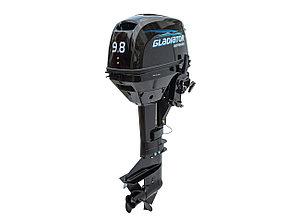 2х тактный Лодочный мотор GLADIATOR G9.8FHS, фото 2