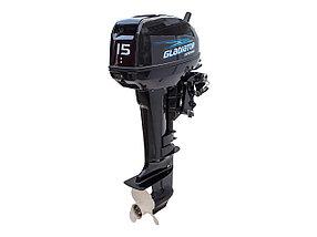 Лодочный мотор GLADIATOR  15лс , фото 2