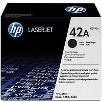 Картридж лазерный HP 42A (Q5942A) 4240/4250/4350/tn, up to 10000 pages.