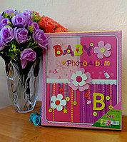 """Фотоальбом детский """"Baby"""" для девочек на 240 фото, фото 1"""