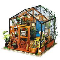 """Домик """"Цветочный Сад"""" с подсветкой и мебелью"""
