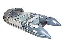Моторная лодка ПВХ GLADIATOR C 400 AL с алюминиевым полом, фото 2