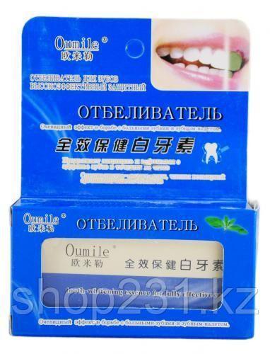 """Отбеливатель для зубов Oumile """"защитный""""."""