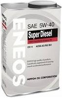 Моторное масло Eneos SUPER DIESEL Synthetic 5w40 1 литр