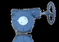Редукторный привод для дисковых поворотных затворов 300