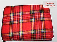 Плед для пикника, красный, 150*200 см