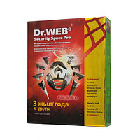 Антивирус Dr. Web Security Space GOLD, 36 мес., 1 ПК, BOX