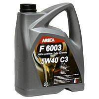 Моторное масло ARECA F6003 C3 5w40 5 литров