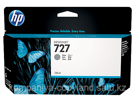 HP B3P24A Gray Ink Cartridge №727