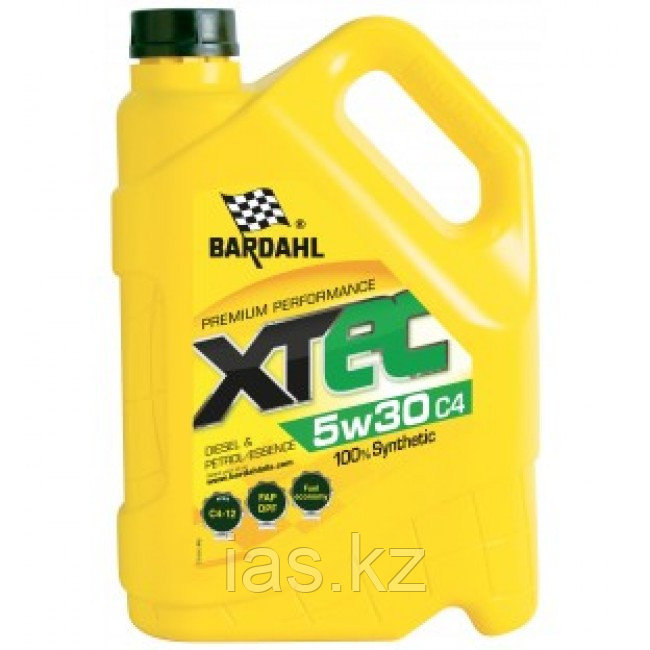 Моторное масло BARDAHL XTEC 5w30 C4 5 литров
