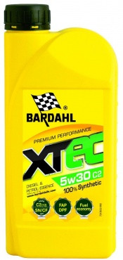 Моторное масло BARDAHL XTEC 5w30 C2 1 литр
