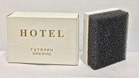 Губка для обуви в пакетике 5x3,5 см. в коробке HOTEL