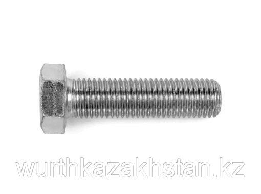 Болт M12X50 по DIN933 (ISO 4017) сталь нерж. A2