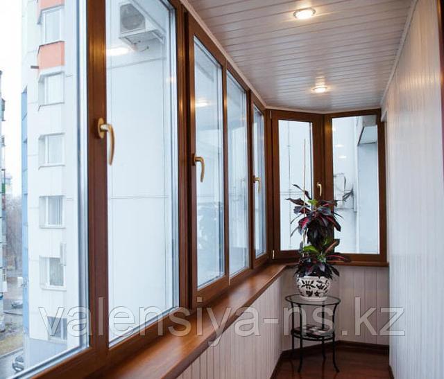 обшивка балкона Астана