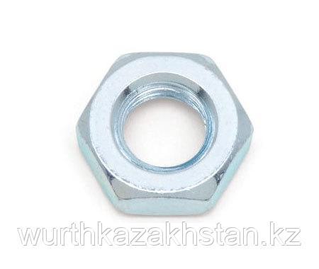 Гайка М 8, 6-гр, оцинк. сталь 8  DIN934