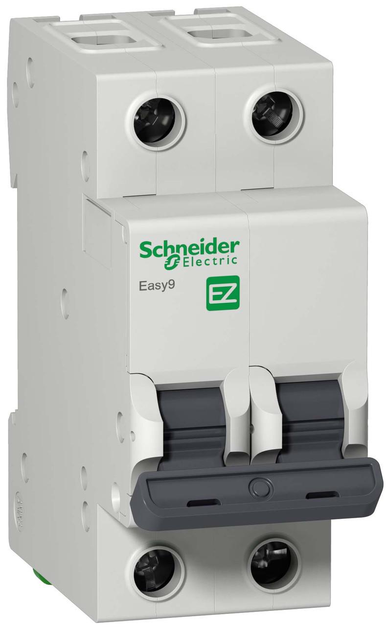 Автоматический выключатель EASY 9 2П 32А С 4,5 кА 230 В