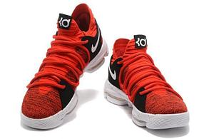 Баскетбольные кроссовки  Nike KD X (10) from Kevin Durant красные , фото 3