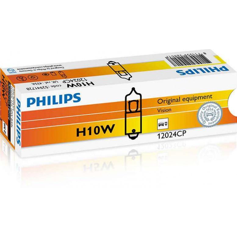 Лампы галогенные PHILIPS H10 W (12024 CP)