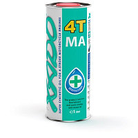 Масло XADO Atomic Oil 10W-40 4T MA SuperSynthetic (1л)