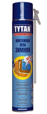 TYTAN ПУ монтажная пена пистолетная PROF ЗИМНЯЯ
