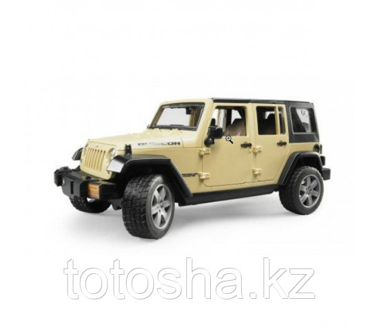 Bruder Джип Jeep Wrangler Unlimited Rubicon